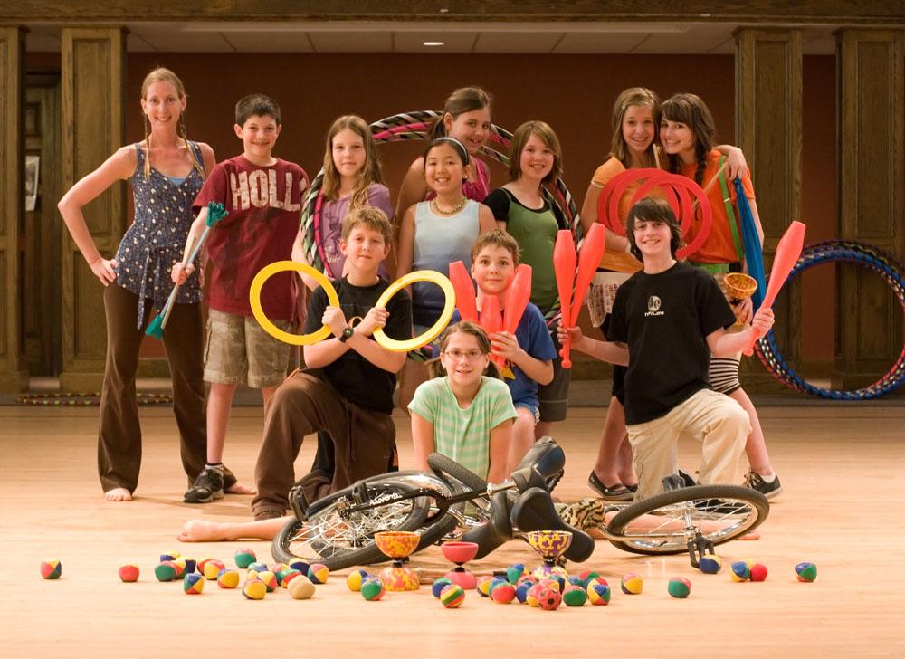 Atelier - Initiation au cirque