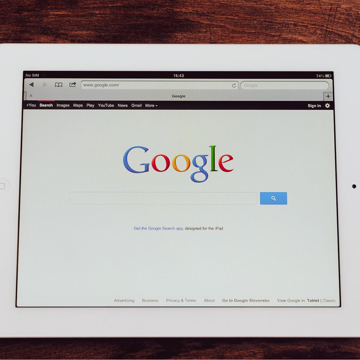 Informatique: À la découverte de Google