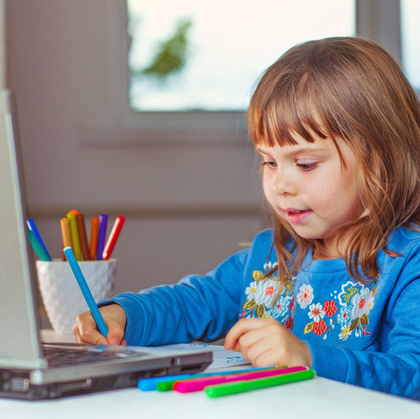 Atelier virtuel de dessin pour enfants (4-7 ans)