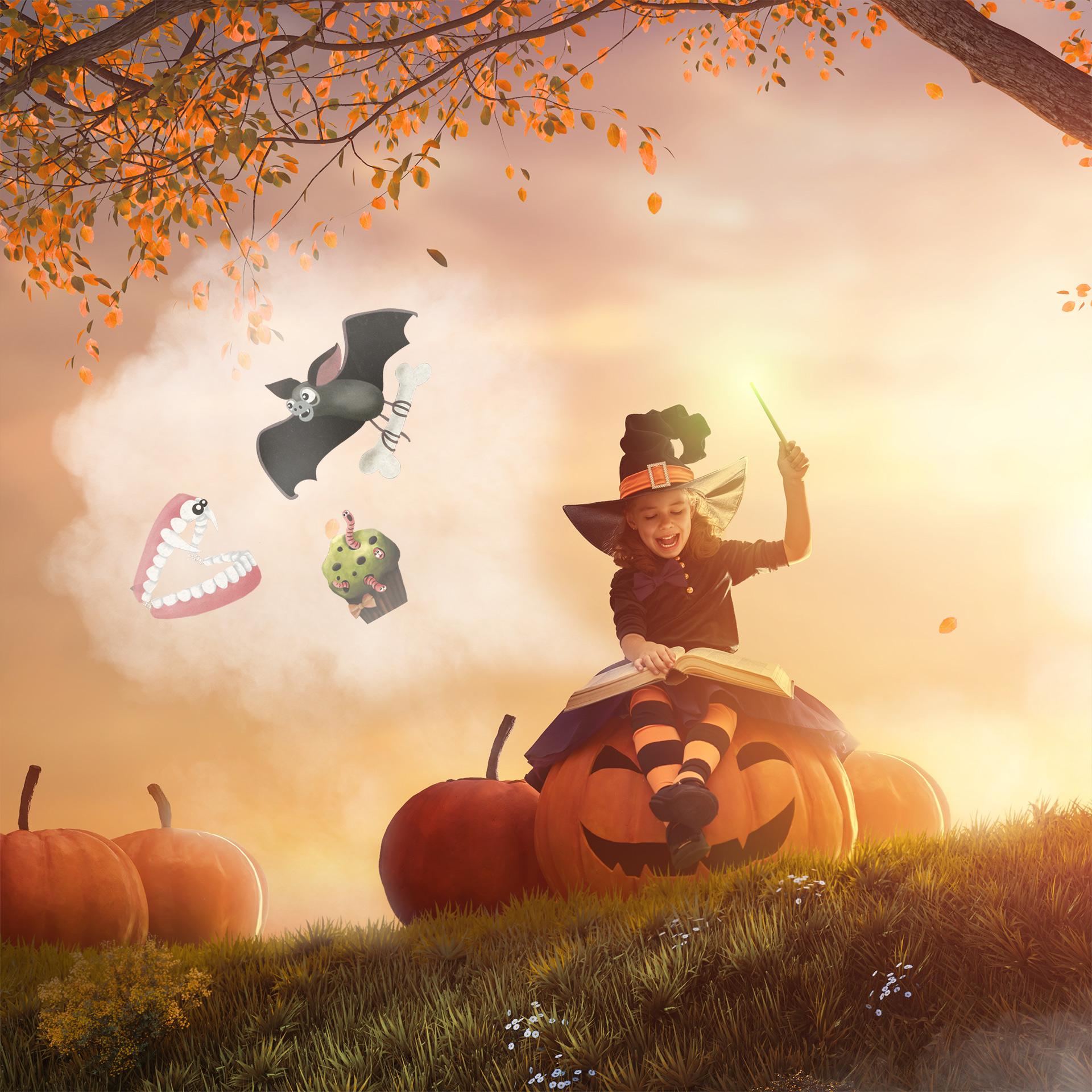 Marche littéraire d'Halloween