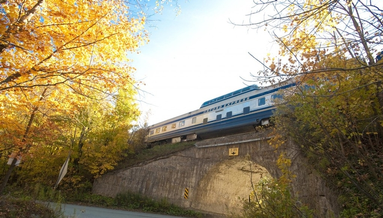 Séjour train touristique Orford