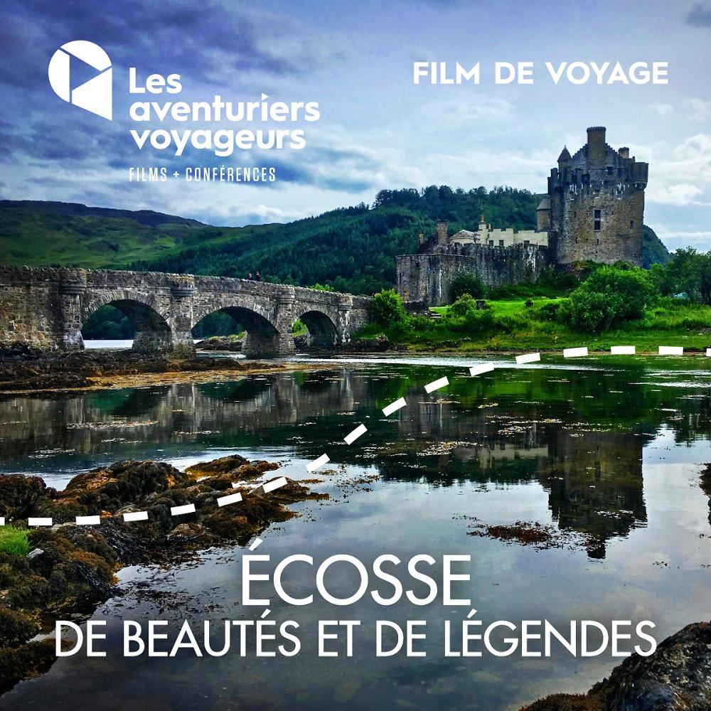 Film voyage de mars: L'Écosse, de beautés et de légendes