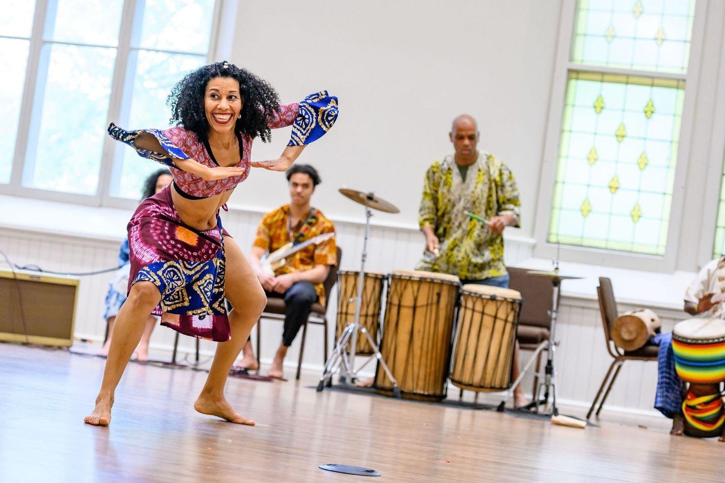 Atelier de danse africaine avec Lua Shayenne
