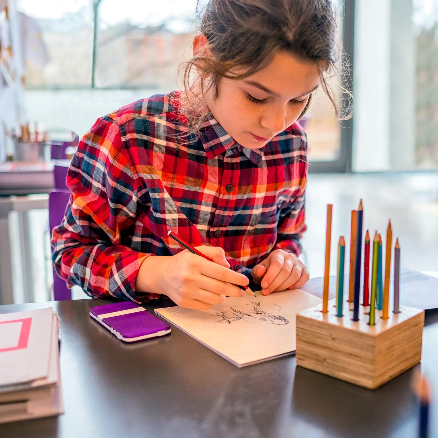 Atelier virtuel de dessin pour enfants (8 ans +)