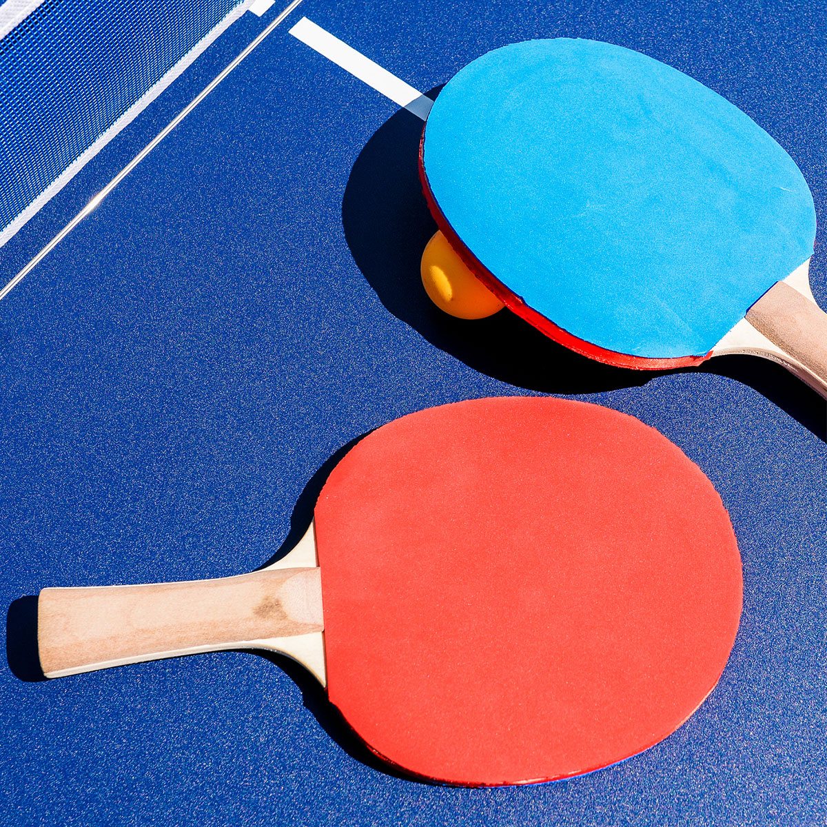 Tennis de table - Séance du 1er octobre
