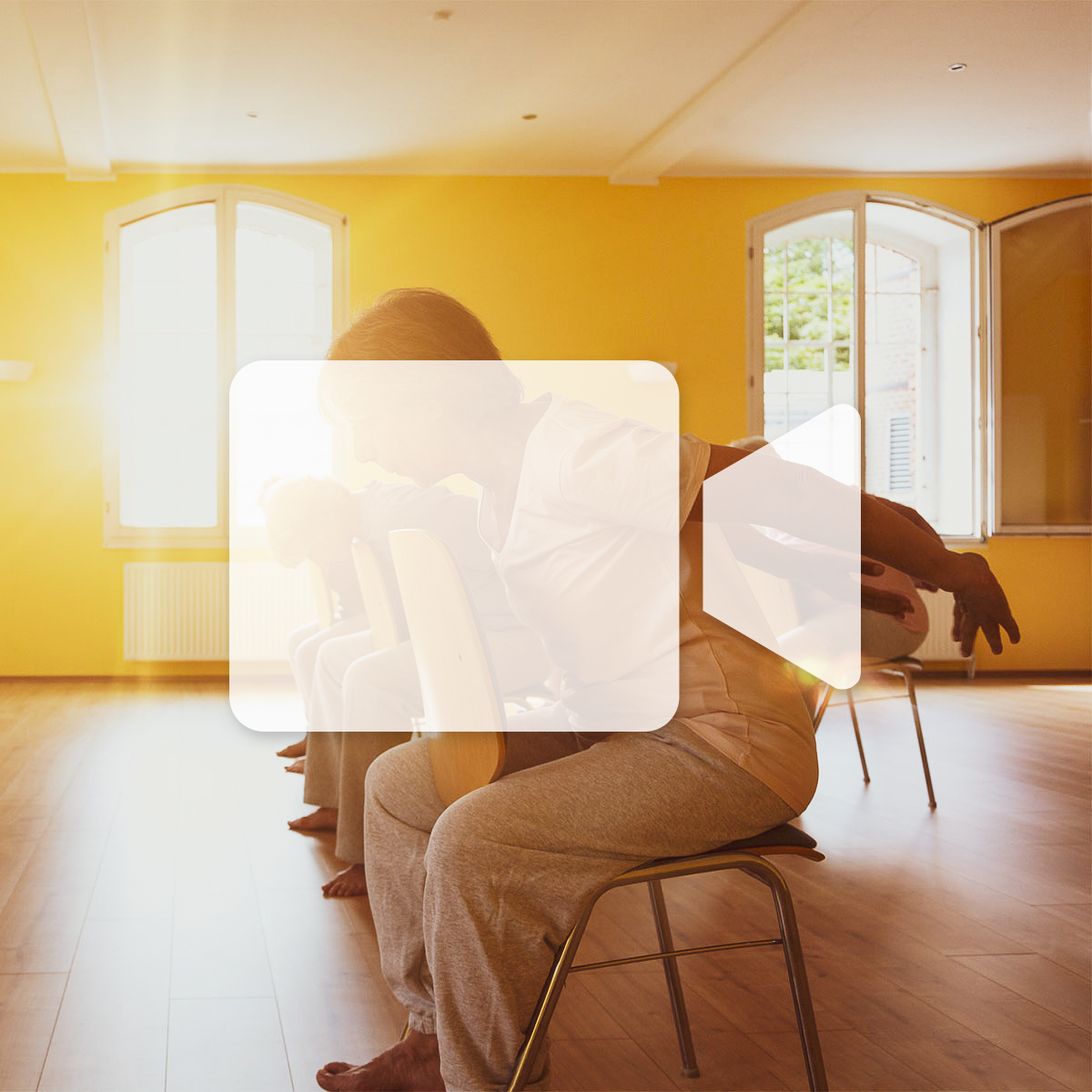 En ligne - Cours d'essai gratuit - Yoga sur chaise